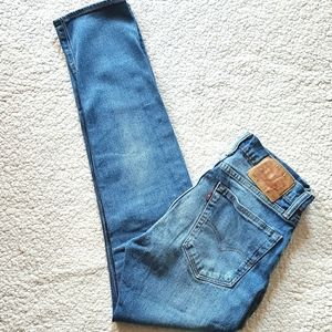 LEVI'S 505 C ZIP FLY WITH STRETCH JEANS